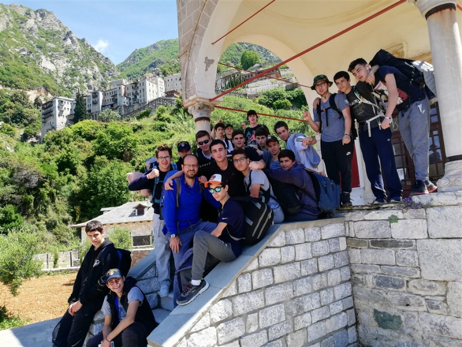 Welfare Club Visits Mt. Athos