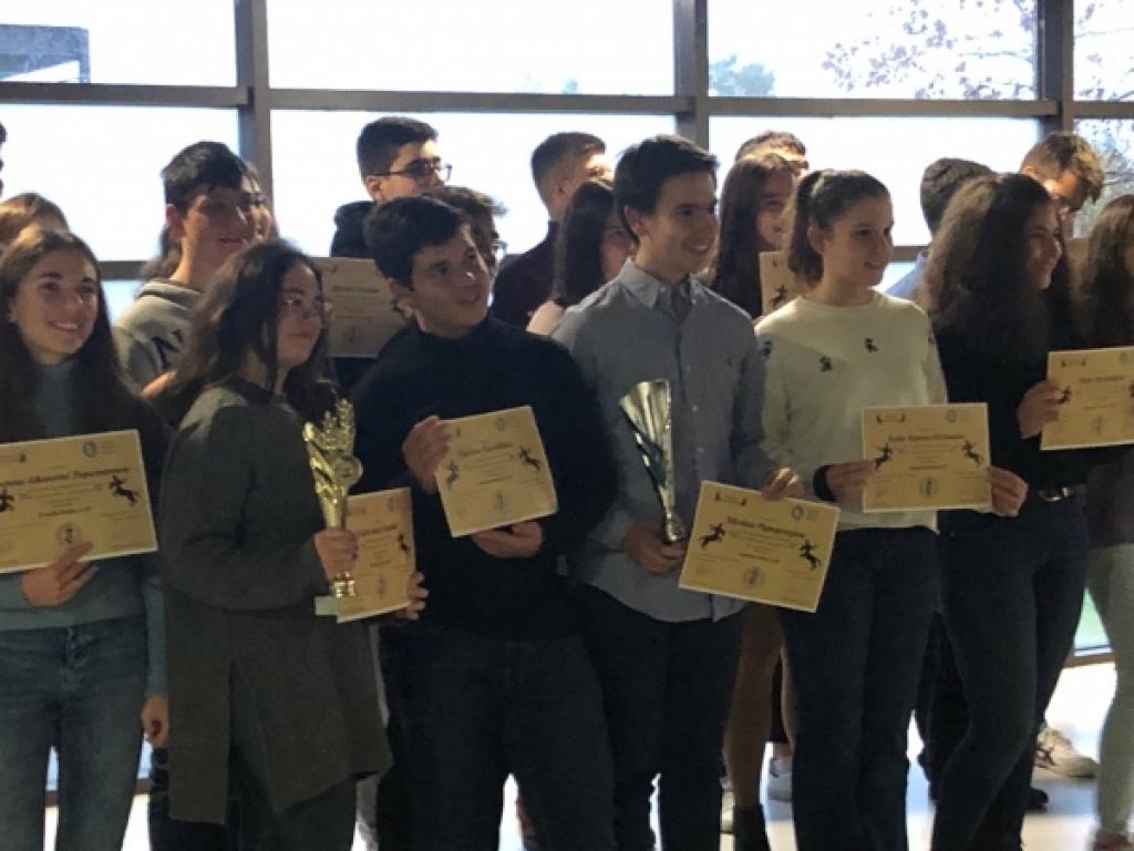 Διάκριση στους αγώνες προετοιμασίας για το Hellenic Young Naturalists' Tournament