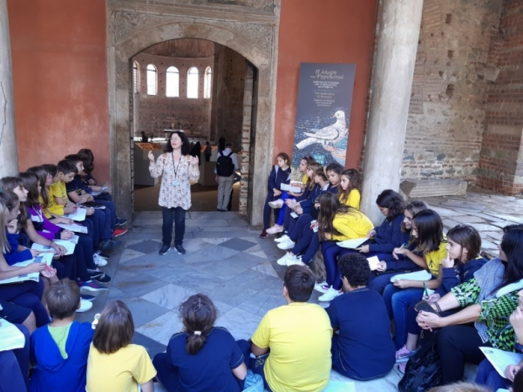 Γνωριμία με την «Τέχνη του Ψηφιδωτού» στη Ροτόντα