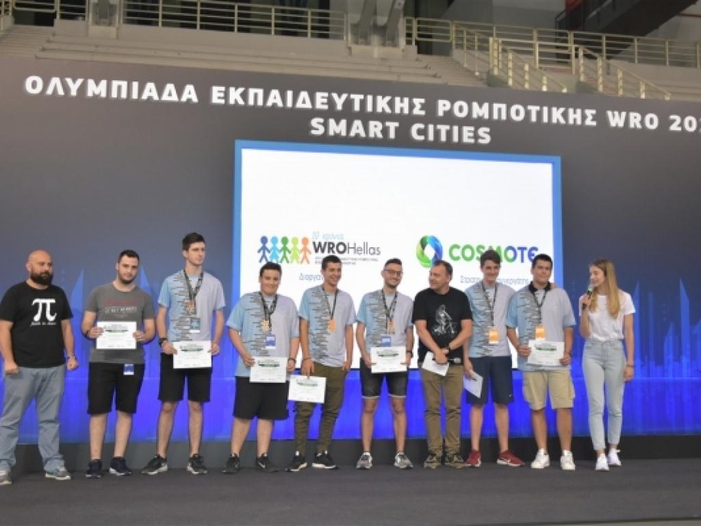 Χάλκινο μετάλλιο στον Πανελλήνιο Τελικό της Ολυμπιάδας Ρομποτικής 2019...