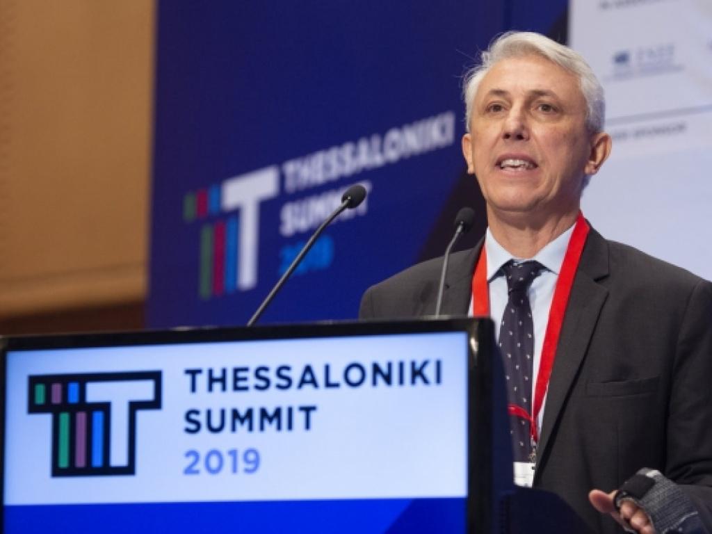 Ο Πρόεδρος του Κολλεγίου Ανατόλια Δρ Πάνος Βλάχος στο Thessaloniki Summit 2019