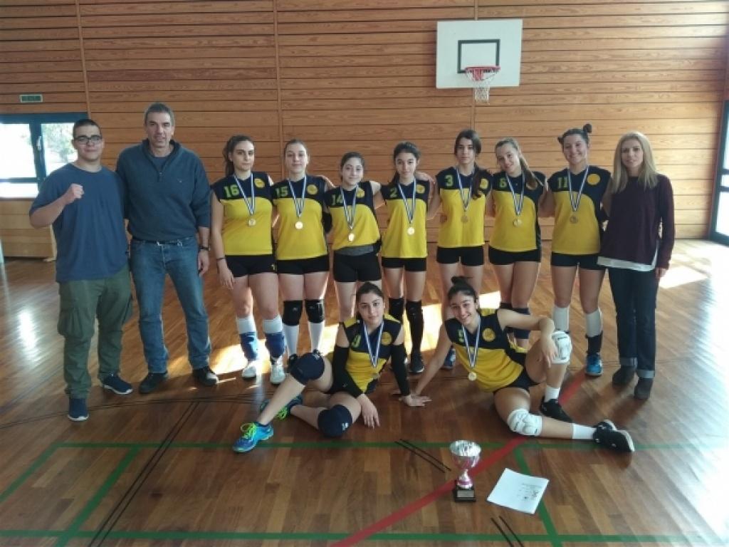 Με νίκες στο αθλητικό τουρνουά της Γερμανικής Σχολής Θεσσαλονίκης