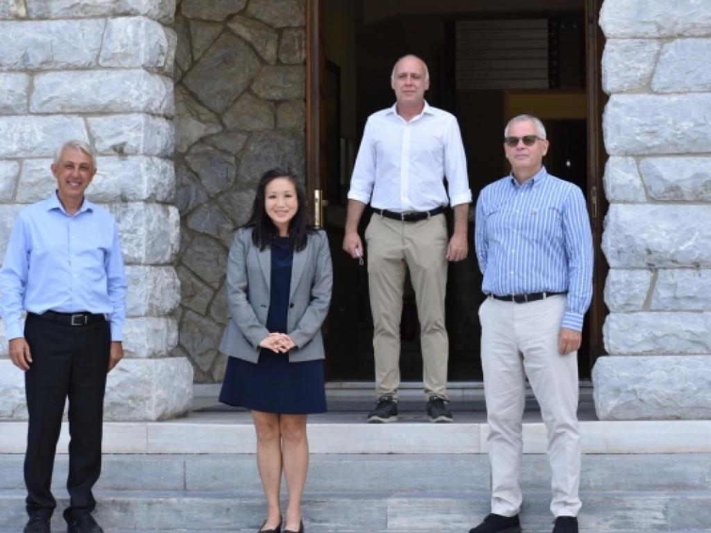 Επίσκεψη της νέας Γενικής Προξένου των ΗΠΑ στο Κολλέγιο Ανατόλια