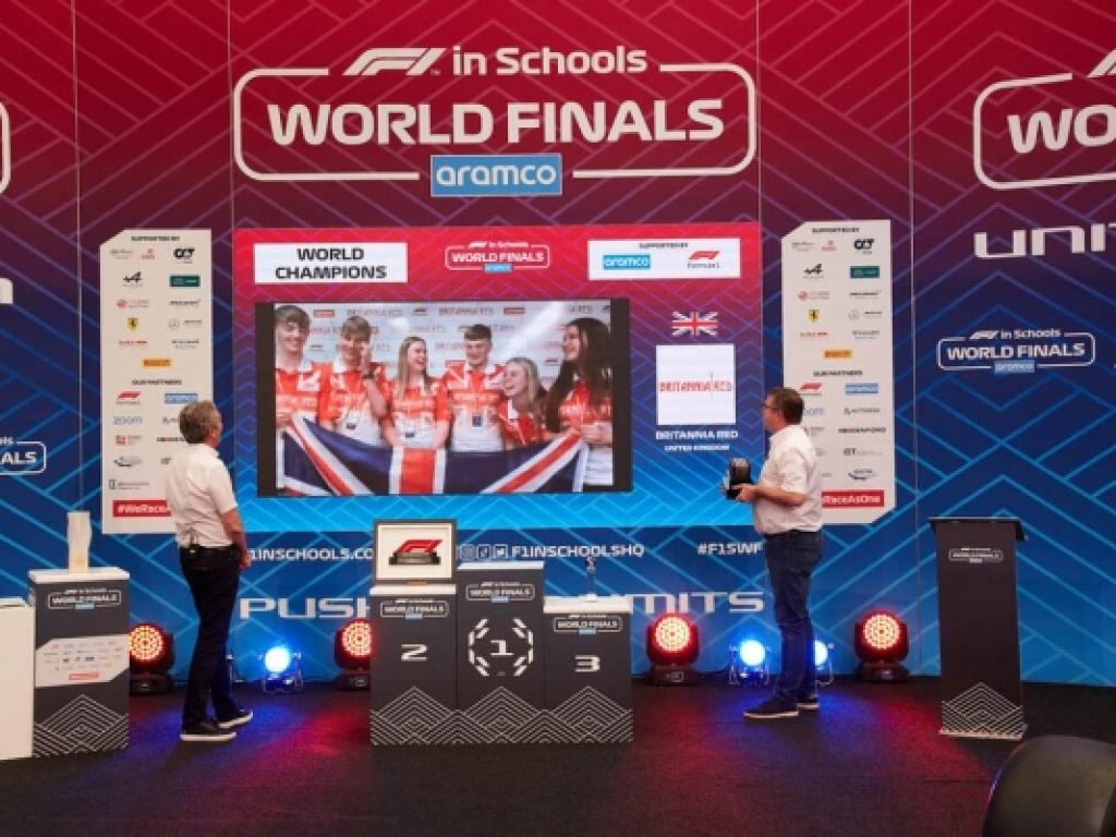 Η Hyperion Racing Team στην 9η θέση  των Παγκόσμιων Τελικών της F1 in Schools